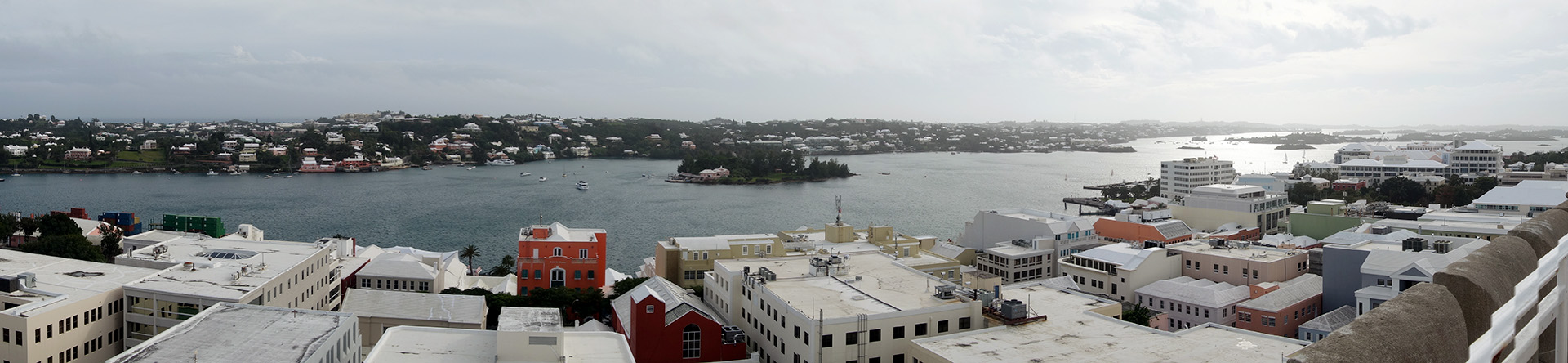 Hamilton harbor, Bermuda.
