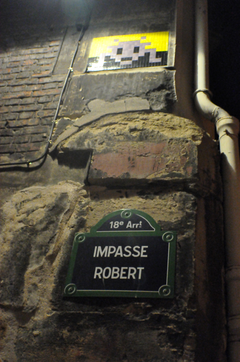 Space Invader Impasse Robert