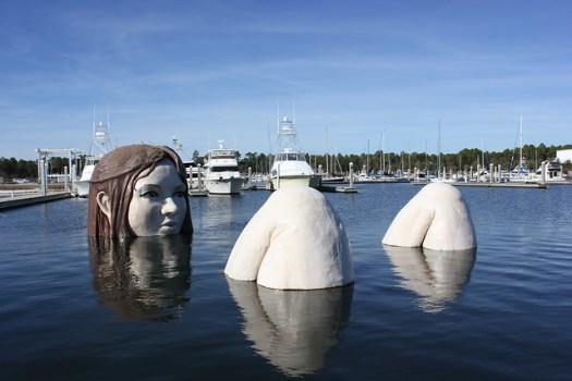 Mark Cline Sculpture, Elberta AL