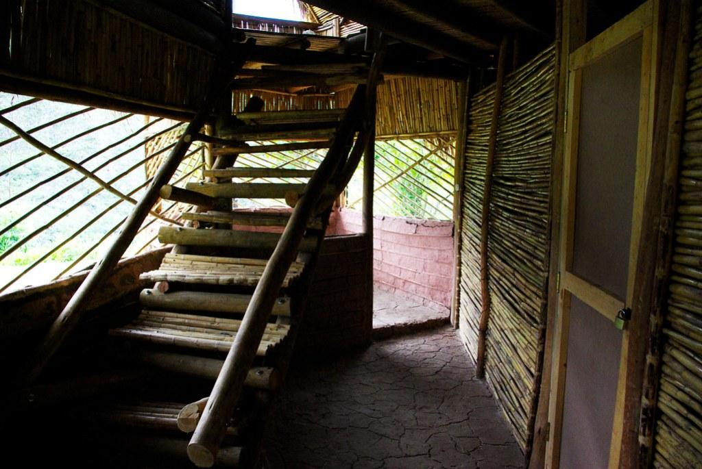 Interior de la casa de reposo