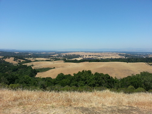 view from Foothills Park