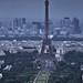 Tour d'Eiffel from Montparnasse - Paris June 2013