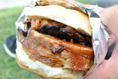 Bacon Bomb Sandwich