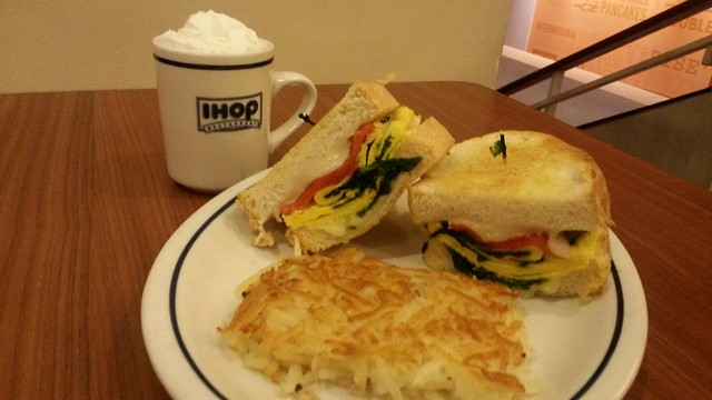 Griddle Melts - IHOP BGC