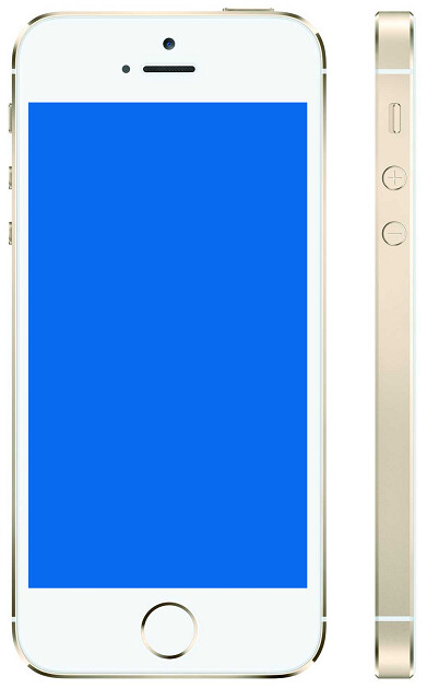 iphone 5s blue screen error 1