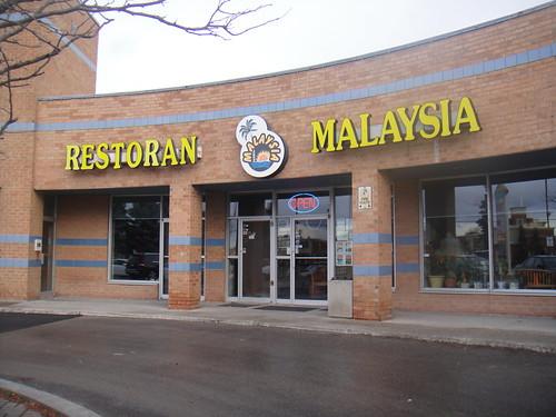 Restoran Malaysia storefront