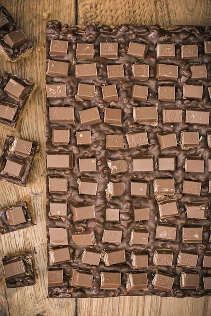 Kit Kat Peanut Butter Crunch Bars