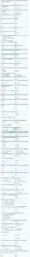 PU CET 2013 Question Paper with Answers - Mathematics
