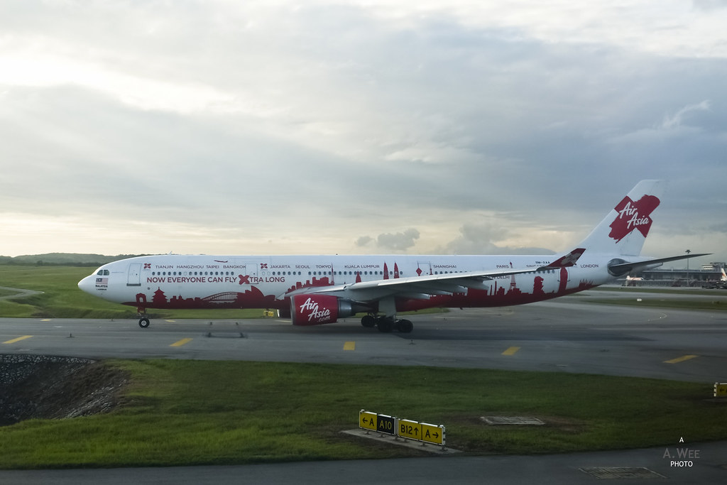 Air Asia X operating an A330