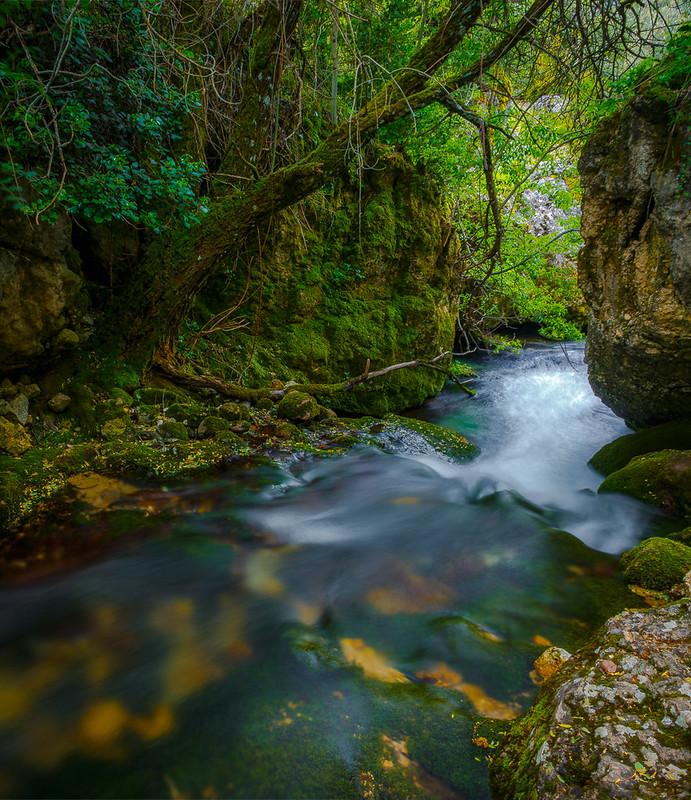 Ruta Collado Fuente Bermejo - Salto de los Órganos