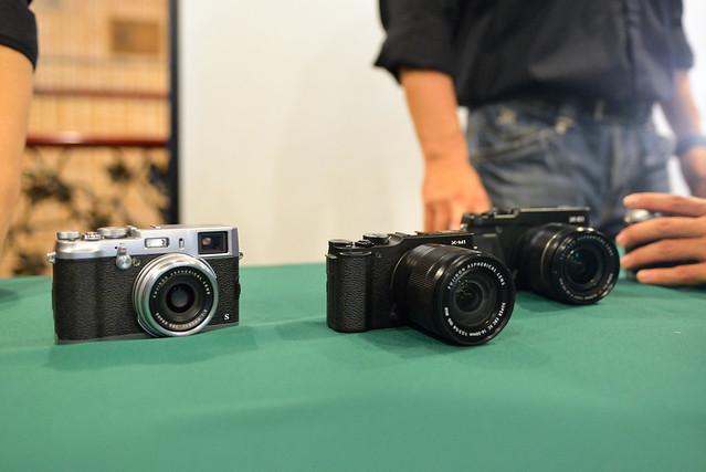 【相機們】由左至右分別為 X100s, xm-1, xe-1
