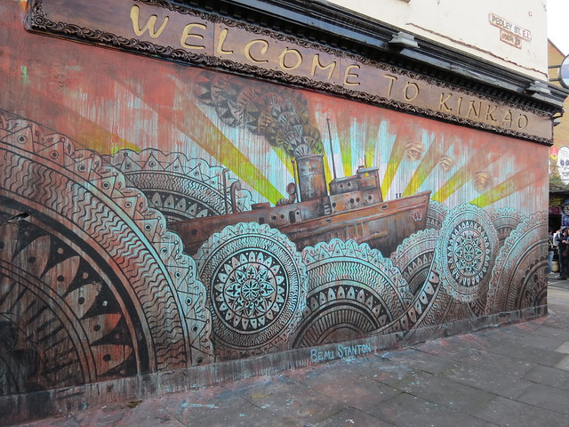 Shoreditch street art - Beau Stanton