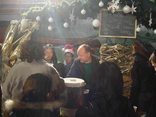 Weihnachstmarkt an der deutschen Schule