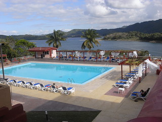 Hotel Hanabanilla, in the mountains