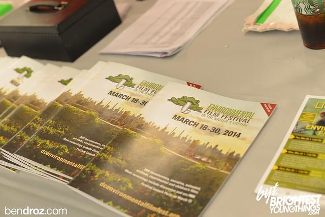 Mar 13, 2014-Environmental Film Fest Launch- Ben Droz -  01