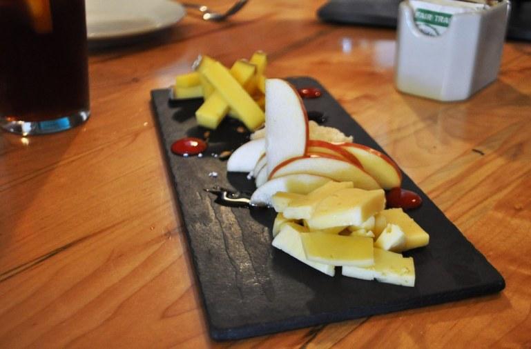 Fruit and Cheese, Local Roots Restaurant, Roanoke, VA, April 2014 #OldSchoolVA #LoveVA