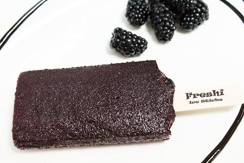 Black Berry Sorbet Stick by Freshi Ice Sticks Jeddah Saudi Arabia