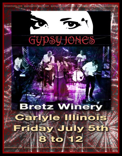 Gypsy Jones Bretz Winery 7-5-13