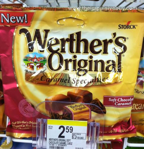 Werther's Original Caramel Specialties Soft Chocolate Caramel