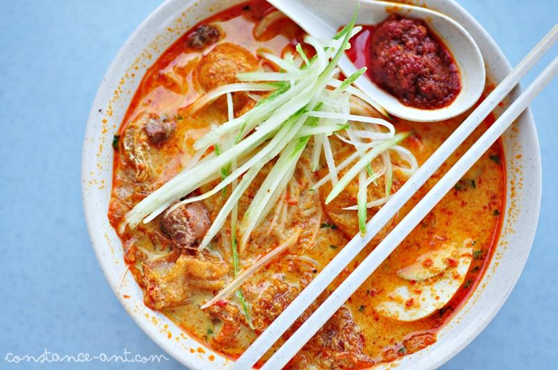 Malacca nyonya laksa bess kopitiam bukit baru being for Amy heritage nyonya cuisine
