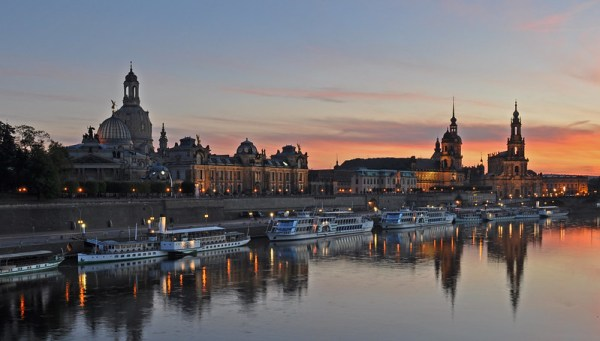Germany - Dresden - sunset