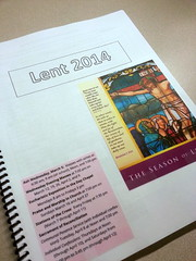 Lent 2014 Booklet: Cover