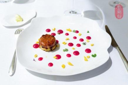 5th Course: Foie Gras Brulé