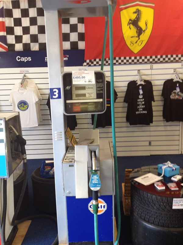 Petrol Pumps for sale at Donington Park