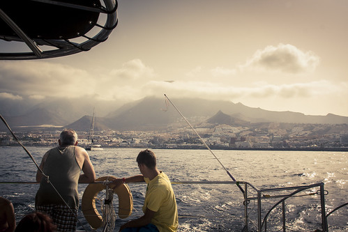 On a boat (Tenerife, Iles Canaries) - Photo : Gilderic