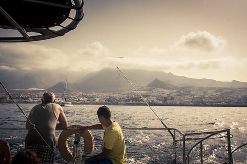 On a boat (Tenerife, Iles Canaries) - Photo : Gilderic