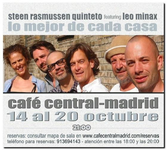 Leo Minax & Steen Rasmussen Quinteto - CAFECENTRAL