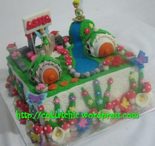 Cake Tinkerbell