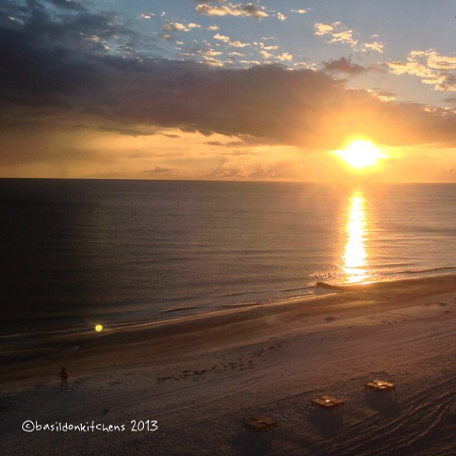 Sep 29 - gold {last night's sunset was pure gold} No filter! #fmsphotoaday #gold #sunset #beach #gulfofmexico #madeirabeach #florida