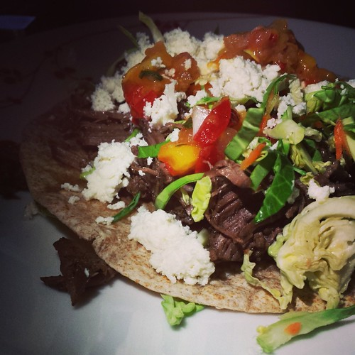 Beer Braised Beef - Taco