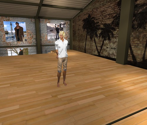 Beach boy style with a hint of old money by Second Life Beach