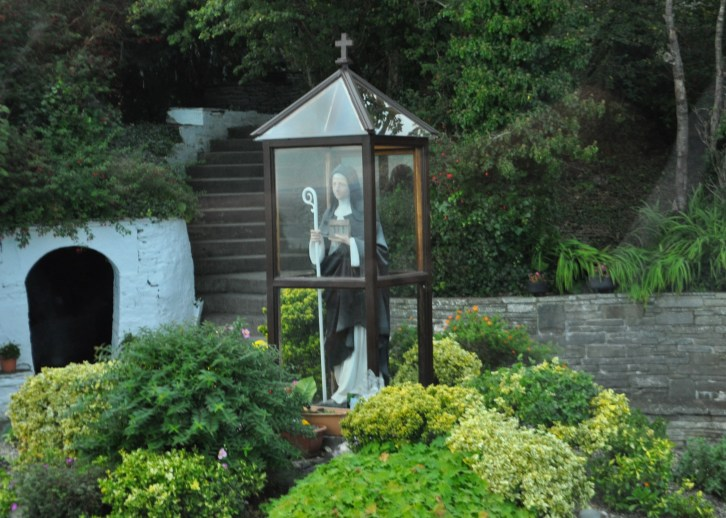 Shrine to Saint Brigit, Patron Saint of Ireland