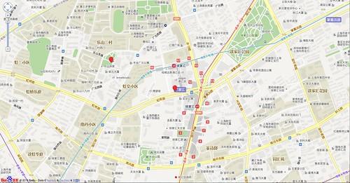 Baidu Maps offset example