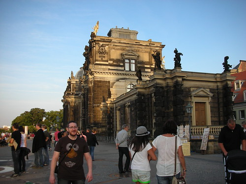 In Dresden's Altstadt