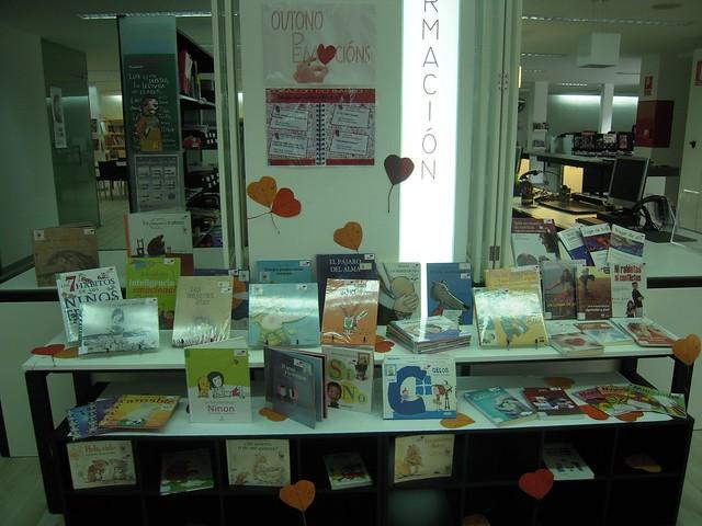 Mostra bibliográfica sobre educación emocional