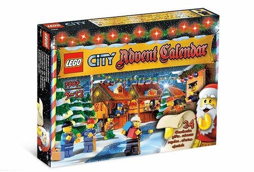 Advent Calendar City 2007 7907