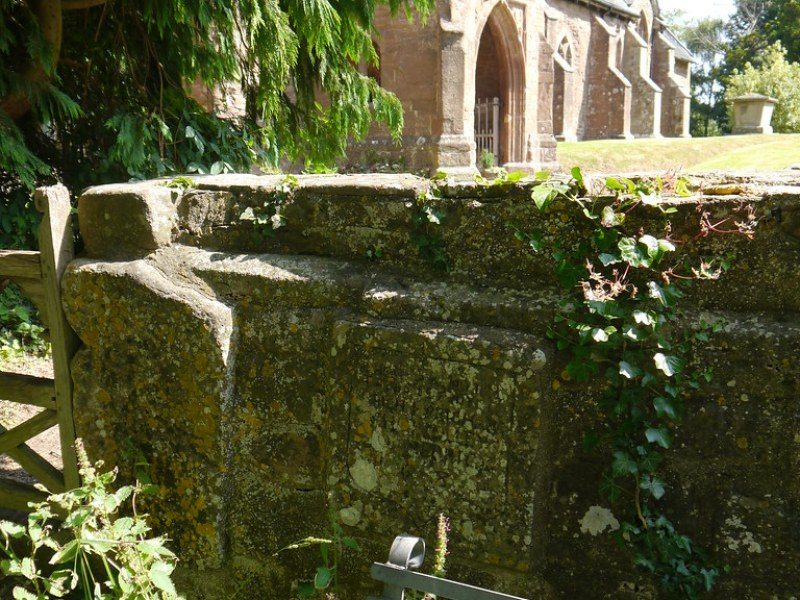 Kings Caple - inscription & church