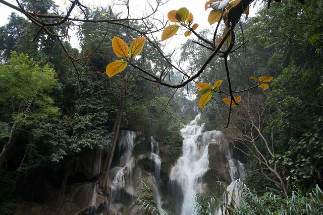 Kuang Si Water Fall, Luang Prabang, Laos
