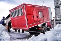 Hessischer Hilfseinsatz in Slowenien Januar 14