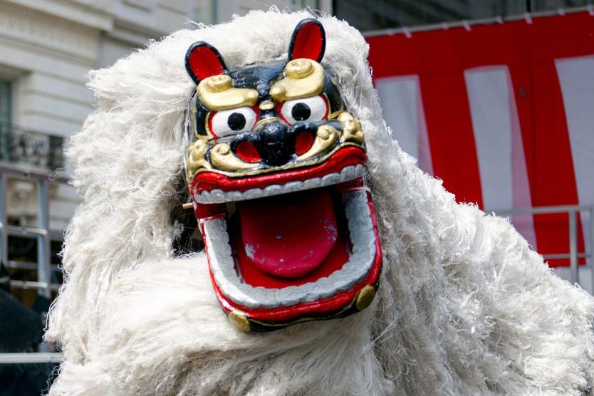 Dragon, Matsuri Festival.