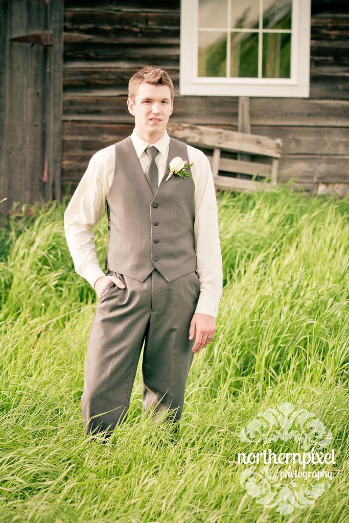 The Groom - Prince George BC Wedding