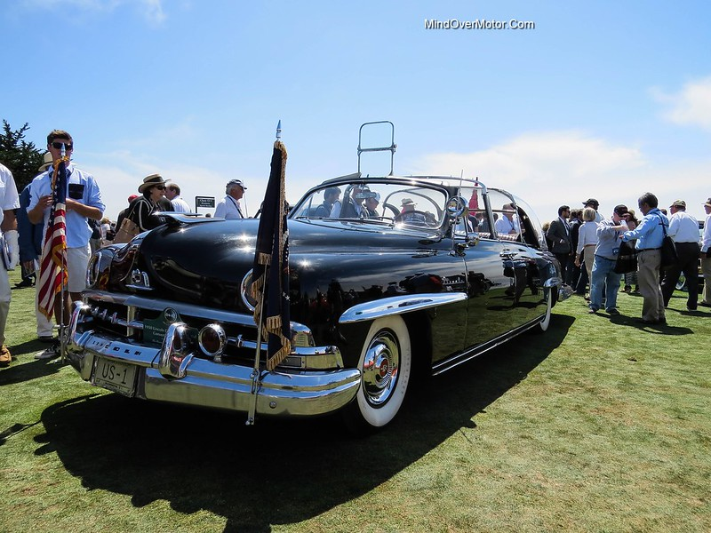 The 1950 Lincoln Presidential Limousine At The Pebble Beach Concours