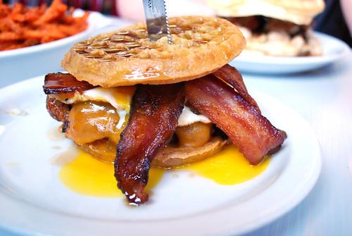 Slater's Breakfast sandwich