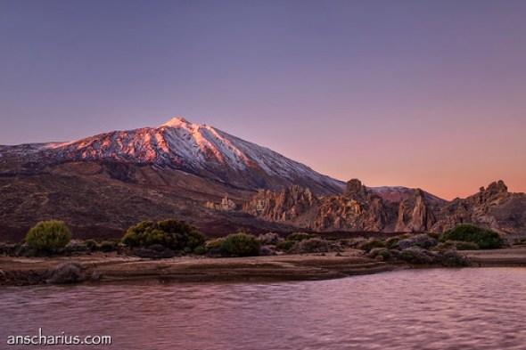 Last Daylight @ Pico del Teide - Nikon D800E