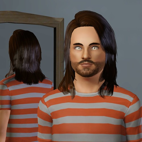 WCIF Long Hair For Males? — The Sims Forums