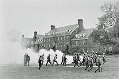 Police Move Onto U of MD Campus Using Tear Gas: May 1970